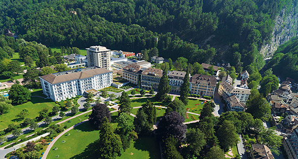 Grand Resort Bad Ragaz by Willie Carballo