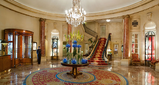 Hotel Ritz Madrid by Willie Carballo